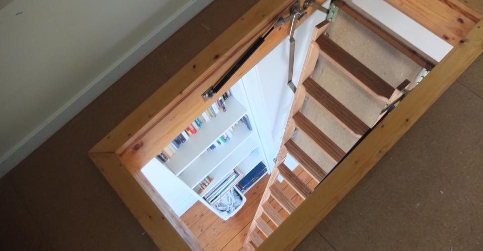 Trappa till loftet