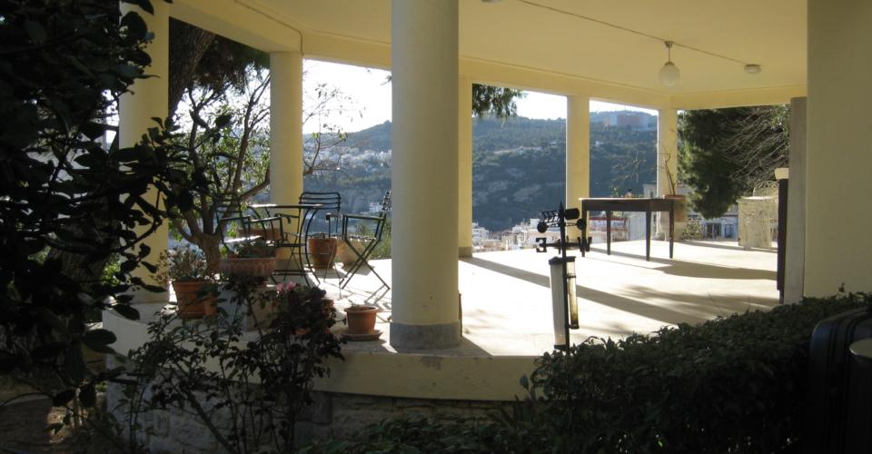 Terrassen bottenvåningen