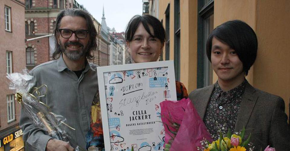 Cilla Jackerts flanörroman för mellanåldern belönas med Slangbellan