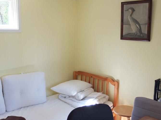 Lilla sovrummet, arbetsplats