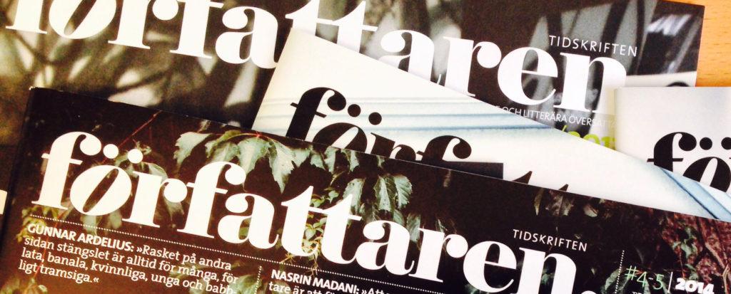 Vill du vässa vår tidskrift? Chefredaktör sökes.