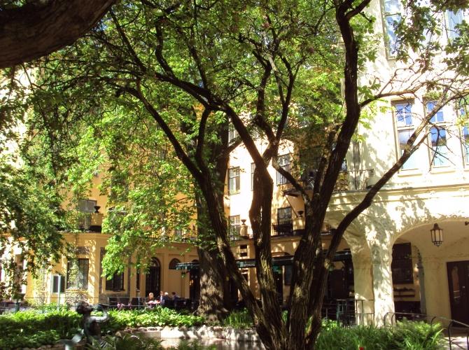 Innergården/The courtyard